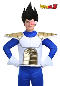 Dragon Ball Z DBZ Adult Saiyan Armor Accessory