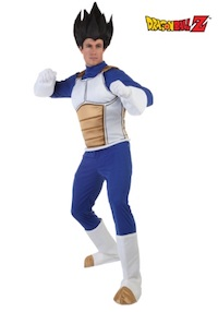 DBZ Adult Vegeta Costume