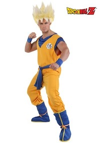 DBZ Adult Super Saiyan Costume