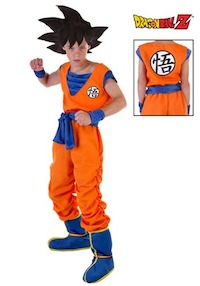 Dragon Ball Z Child Goku Costume
