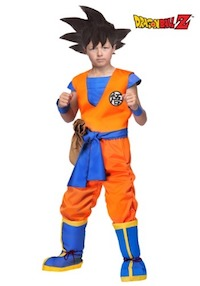 DBZ Authentic Child's Goku Costume