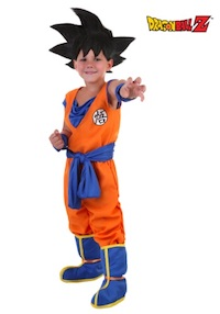 DBZ Toddler Goku Costume
