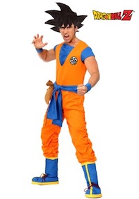 Authentic DBZ Goku Men's Costume