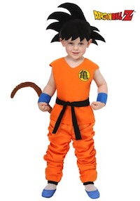 DBZ Child's Goku Costume