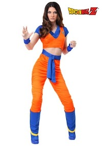 DBZ Female Goku Costume