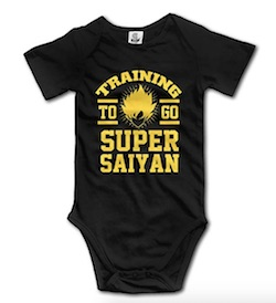 Dragon Ball Z Baby Onesie - Super Saiyan