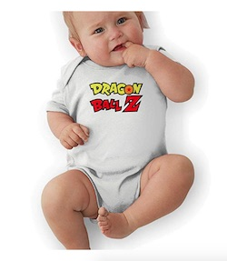 Dragon Ball Z Baby Onesie