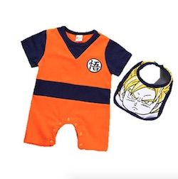 Dragon Ball Z Baby Onesie - Goku
