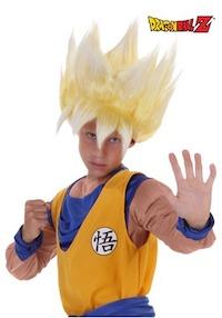 Dragon Ball Z Super Saiyan Wig for Kids