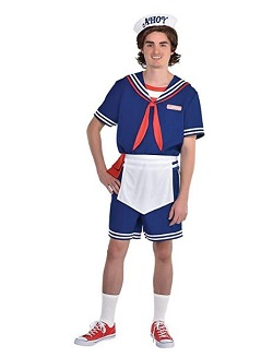 Stranger Things Steve and Robin Costume Scoops Ahoy