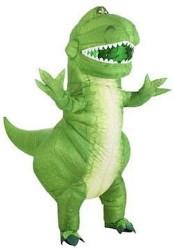 Toy Story 4 Adult Rex Inflatable Costume