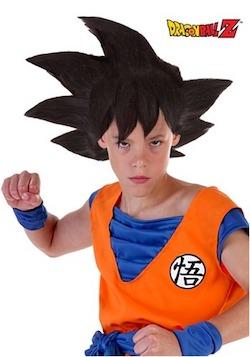 Dragon Ball Z Goku Kids Wig