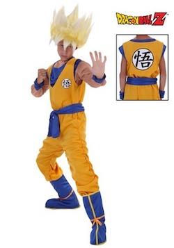 Dragon Ball Z Goku Super Saiyan Costume for Kids