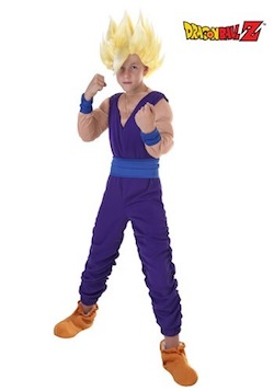 Dragon Ball Z Gohan's Costume for Kids