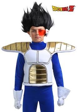 Dragon Ball Z Saiyan Child Armor Accessories