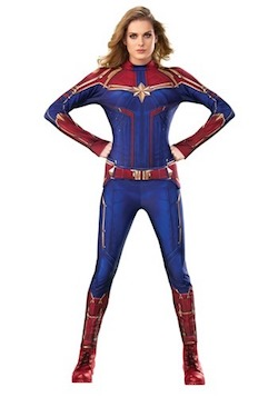 Adult Captain Marvel Costume