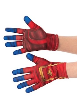 Adult Captain Marvel Costume Gloves