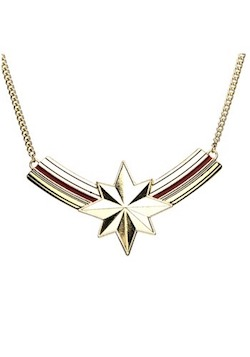 Adult Captain Marvel Costume Necklace