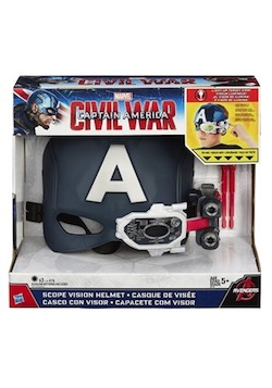 Marvel Avengers Endgame Costume Ideas for Kids - Captain America Scope Vision Helmet
