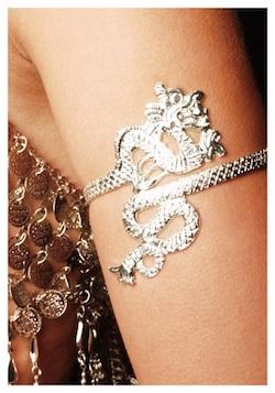 Game of Thrones Mother of Dragons Daenerys Targaryen Khaleesi Costume Dragon Armband
