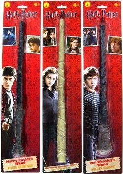 Harry Potter Wand - Harry, Ron, Hermione