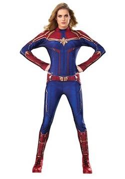 Marvel Avengers Endgame Costume for Adults - Captain Marvel