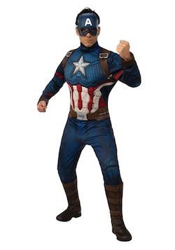 Marvel Avengers Endgame Costume for Adults - Captain America