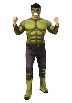 Marvel Avengers Endgame Costume for Adults - Hulk