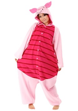 Adult Winnie the Pooh Costume - Piglet