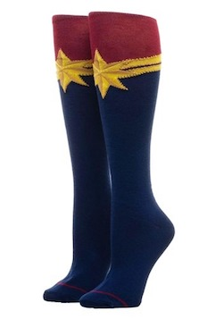 Kids Captain Marvel Costume socks