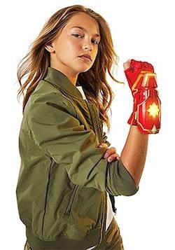 Kids Captain Marvel Costume photon power glove