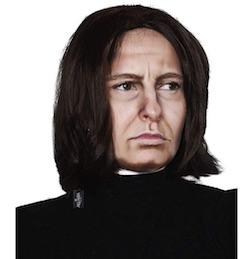 Harry Potter Severus Snape Costume Wig