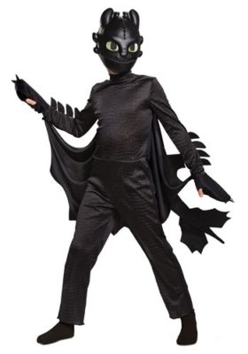 How to Train Your Dragon Costume for Kids - Toothless