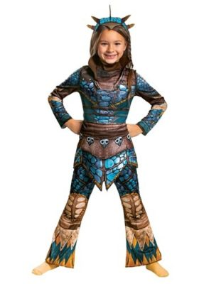 How to Train Your Dragon Costume for Kids - Astrid