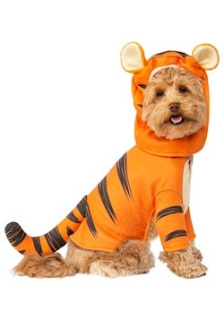 Winnie the Pooh Costume for Pets - Tigger