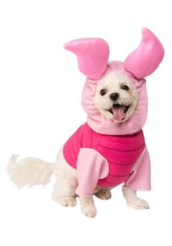 Winnie the Pooh Costume for Pets - Piglet