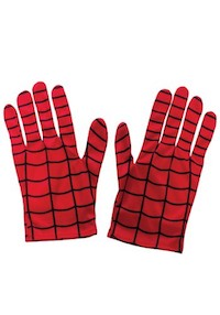 Spider Man Costume Accessories - Gloves