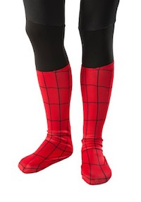 Spider Man Costume Accessories - Boot Covers