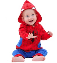 Marvel Baby Spiderman Costume