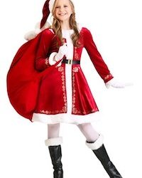 Christmas Santa Costume for Kids