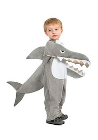 Chomping Baby Shark Costume - Kid Shark