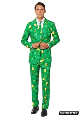 St. Patrick's Day Leprechaun Costume for Adults