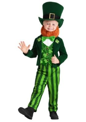St. Patrick's Day Lucky Leprechaun Costume for Kids