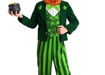 Lucky Leprechaun Costume for Kids