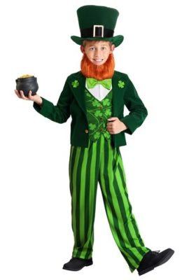 Lucky Leprechaun Costume for Kids