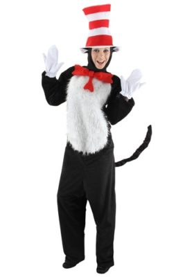Dr Seuss Costume for Adults - Cat in the Hat