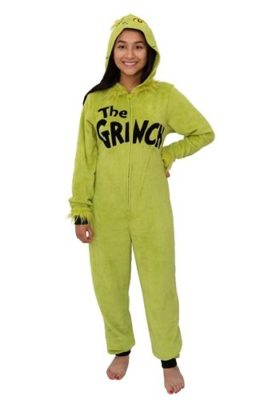 Dr Seuss Costume for Adults - Grinch