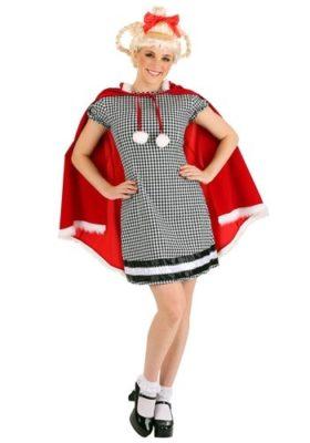 Dr Seuss Costume for Adults - christmas girl