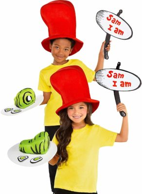 Dr Seuss Costume for Kids - Green Eggs and Ham