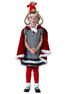 Dr Seuss Costume for Kids - Christmas Girl
